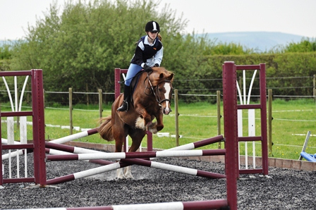 niamh show jumping charlie